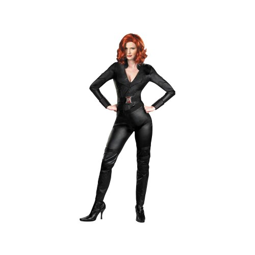Disguise Inc Avengers Widow Deluxe Adult Womens Costume Black Adult Medium