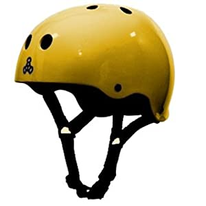 Triple 8 Brainsaver Glossy Helmet with Sweatsaver Liner by Triple 8