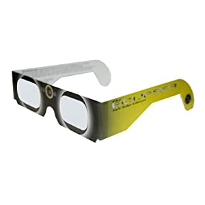 Eclipser Solar Viewing Glasses with Double Alumunized Solar Skreen 2012 Pack of 30