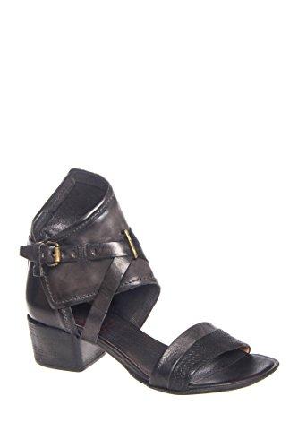 Lively Mid Heel Ankle Strap Sandal