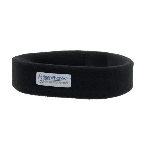 Acousticsheep Sleepphones Wireless Sleep Headphones (Black, Extra Small)