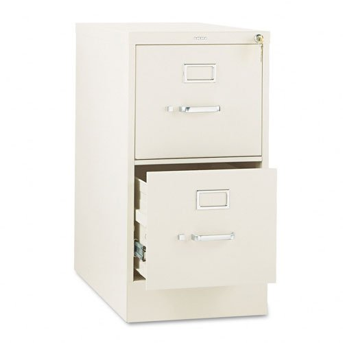 HON 312PL 310 Series Two-Drawer Full-Suspension File Letter 26-1/2d Putty