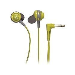Audio-Technica ATHCOR150LG In-Ear Headphones (Green)