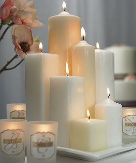 6-Inch-H-x-2-Inch-Dia-Round-Pillar-Candle-White-Set-of-1-by-Weddingstar