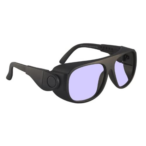 c05aa92eec529 Ace Didymium Glass Working Spectacles in Large Plastic Safety Frame with  Adjustable Side Arms