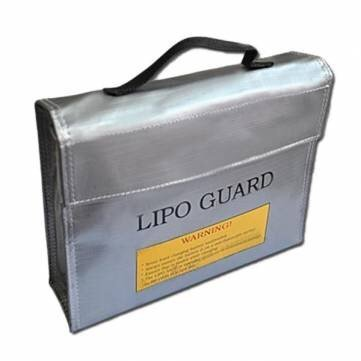 RC lipo Safty Bag/Lipo Guard Bag For Charging Large 235*65*180mm - 1