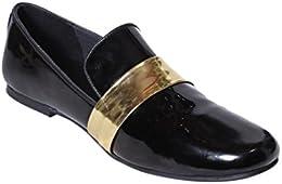 GNX Black Casual Loafer for Men B01NCIJNVP