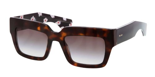 prada Prada 28PS 2AUOA7 Tortoise Shell 28PS Poeme Square Sunglasses Lens Category 2