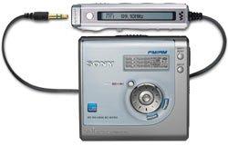 Sony MZ-NHF800 Silver Hi-MiniDisc Walkman with Tuner