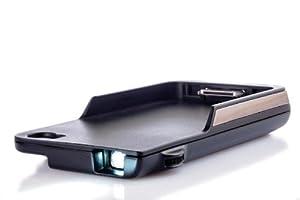 Aiptek MobileCinema i50S DLP-Pico Projector (VGA, 640 x 480 Pixel, 35 ANSI Lumen) für Apple iPhone, schwarz