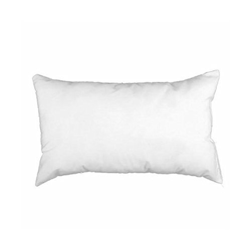 "12"" x 24"" Rectangular Sham Stuffer Hypo-allergenic Poly Pillow Form Insert"