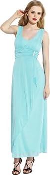 Mesh Wrap Bridesmaid Dress Rhinestone…
