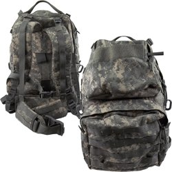 Medium Ruck Sack with Frame ACU Digital.