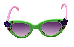 Funcart Green Floral Kids sunglasses . 1 pc per pack