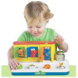 Fisher-Price® Sesame Street Singing Pop-Up Pals