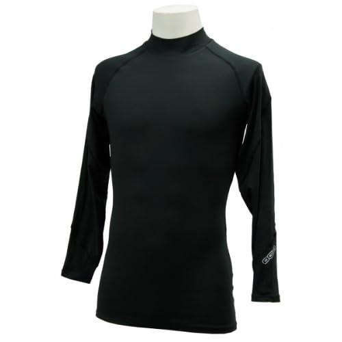(オジオ)OGIO メンズ 長袖ハイネックインナーシャツ 764500 BK ブラック LL