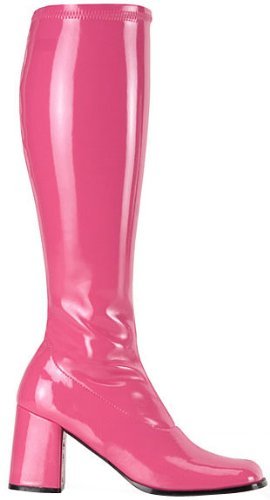 Hot Pink Go Go Girl Boots