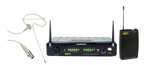 Samson Concert 77 UHF TD Headset Wireless Microphone System with SE10 Headset, Channel N1