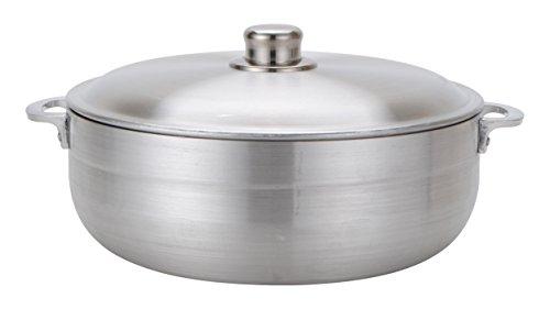 Aramco Alpine Gourmet Caldero, 13 quart, Silver