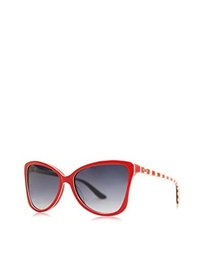Moschino Sonnenbrille Mo-69905-Sa (58 mm) rot/weiß/rot