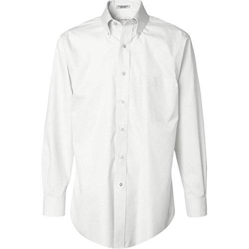 Van-Heusen-Mens-100-Cotton-Non-Iron-Button-Down-Dress-Shirt-Colors