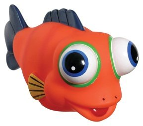 Toysmith Educational Products - Silly Fish Squirters (Colors Vary) - 6 inch long fish squirters