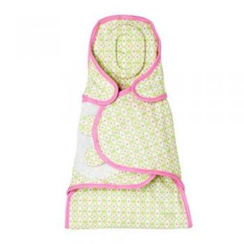 Flowers Snooze Swaddle front-59350