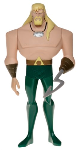 Buy Low Price Mattel Justice League Large Figure: Aquaman (B00022EYOY)