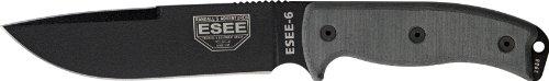 Esee Knives 6 Micarta Handles With Od Green Sheath Molle Locks