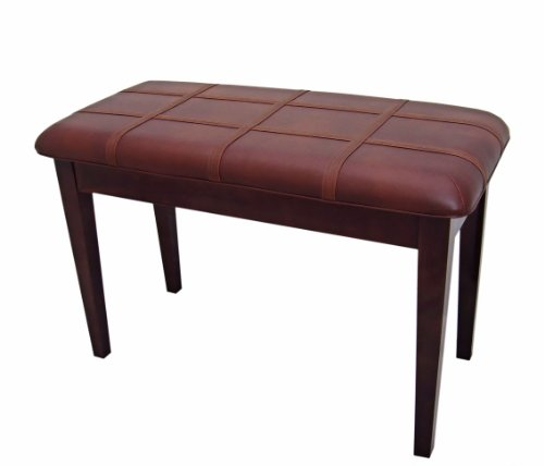 Learn More About Cameron & Sons CS-10 WAHP-PD Walnut Piano Bench with Music Storage, Padded Top