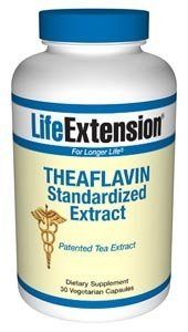 Life Extension Theaflavins Standardized Extract | 30 vegetarian capsules ( Multi-Pack)