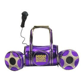 High School Musical Music-To-Go Portable Mic And Sound