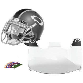 Oakley Shield Men's Football Helmet Accessories - Clear / One Size (Football Helmets Shield compare prices)