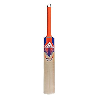 adidas Pellara Rookie Cricket Bat, Men's Short Handle (Red)