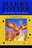 Harry Potter 5 and the Order of the Phoenix. Celebratory Edition (0747591261) by Joanne K. Rowling
