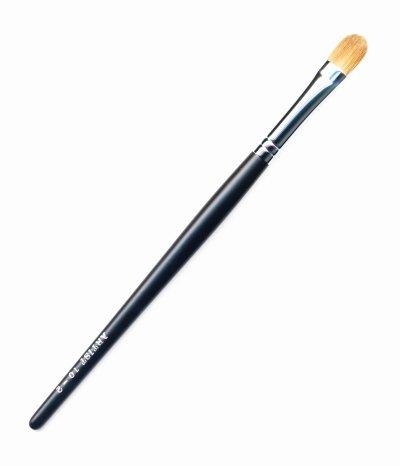 竹宝堂化粧筆 アイシャドウブラシ 10ー2 黒軸 熊野筆