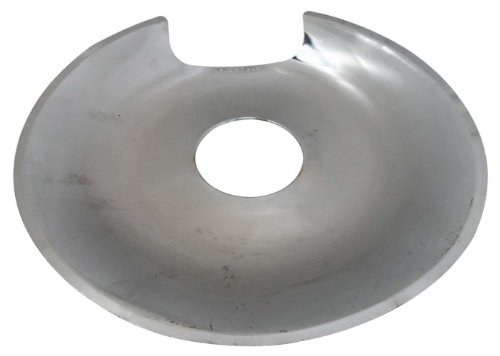 """8"""" Electric Range Reflector Protector Bowl In Chrome front-49780"""