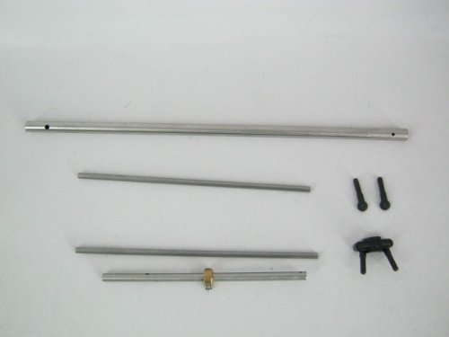 Crash Kit 2 for H-825G 4 CHannel 24Ghz Helicopter - Set Includes Shaft Bar - Tail Pipe Last Rod Components