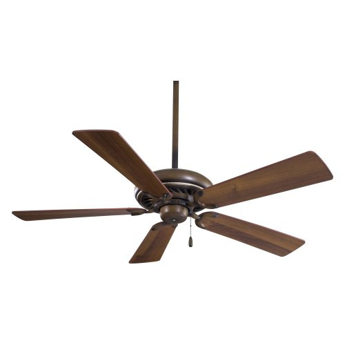 Minka Aire F568-BCW Supra 52 in. Indoor Ceiling Fan - Belcaro Walnut - ENERGY STAR