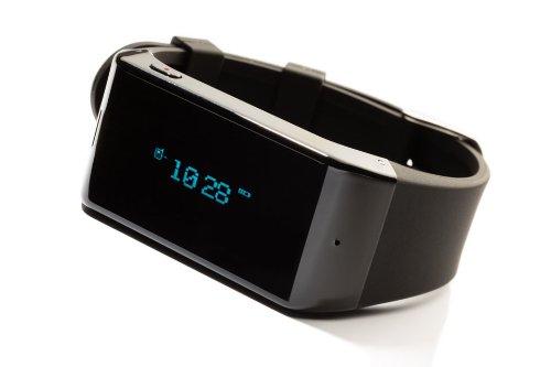 MyKronoz Zewatch - Reloj con Bluetooth para smartphone, color negro