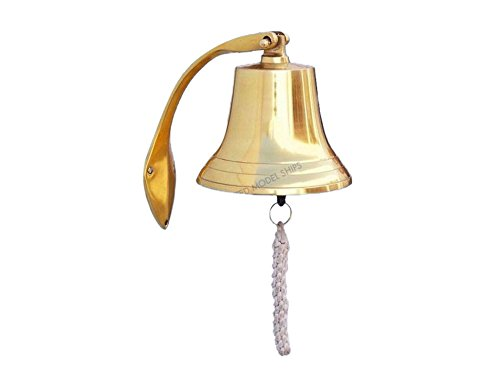 Brass Hanging Harbor Bell 7