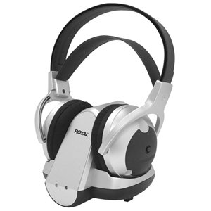ROYAL 49100G 900 MHz Wireless RF Stereo Headphones