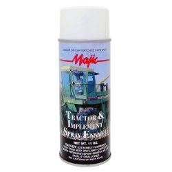 Majic Tractor & Implement Spray, Gloss White