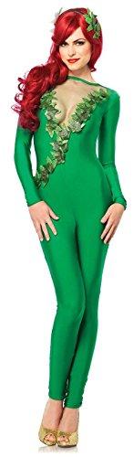 Leg Avenue Women's 2 Piece Ivy Vixen, Green, Large