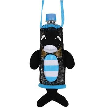 "Stephen Joseph ""Bottle Buddies Orca"" Bottle Holder, Black - 1"
