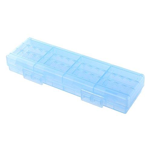 サンワサプライ 電池ケース(単4形専用大容量タイプ・ブルー) DG-BT8BL