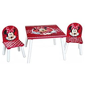 mouse kid tms table and two chairs kids bedroom playroom furniture