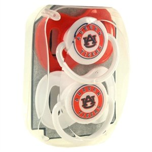 Auburn Tigers NCAA Baby Paciifers - 2 Pack at Amazon.com