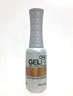 Orly Gel Fx Nail Color, Duo Chrome Yellow Gold Chrome, 0.3 Ounce