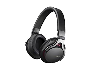 Sony MDR-1RBT Premium Bluetooth Over The Head Headphone, Black